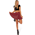 Stylish Waist Women s Tennis Skirt Spring and summer in Europe and America palace pleated black