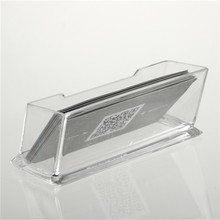 1pc Clear Acrylic Business Card Holder Display Stand Desk Desktop Countertop Newest New Arrival(China (Mainland))