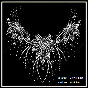 2015 DIY Hot Fix Rhinestones motif Heat Transfer on Design Iron On clothes T Shirt Shoes Bags dancing dress(China (Mainland))
