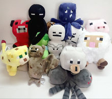 14 Styles Minecraft Stuffed Plush Toy Game Roles Model Cartoon Toys Doll Kids Children Festival Gift High Quality(China (Mainland))