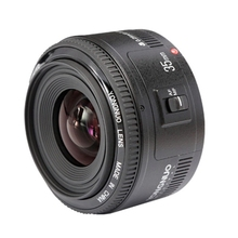 Buy Original camcorder len Canon YN35mm F2 Objektiv Large Aperture Auto Focus Lens Canon EOS 5D Mark III 450D 60D 7DII 6D for $89.29 in AliExpress store