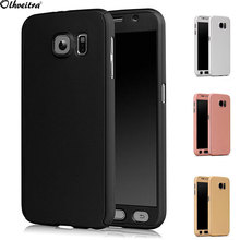Buy Full Body Cover Samsung Galaxy J7/J5/J2 2016 J5 2015 J500 Phone Case 360 Degree case Protective fundas + Tempered Glass film for $2.75 in AliExpress store