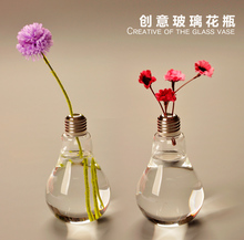Free Shipping hanging glass light bubble round pots flower vases terrarium wedding decorations 013(China (Mainland))