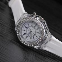 Silicone LED Luminous Fashion Ladies Outdoor Watch Women's Men colorful Sports WristWatches Men Watch Clocks Relogios Masculino (China)