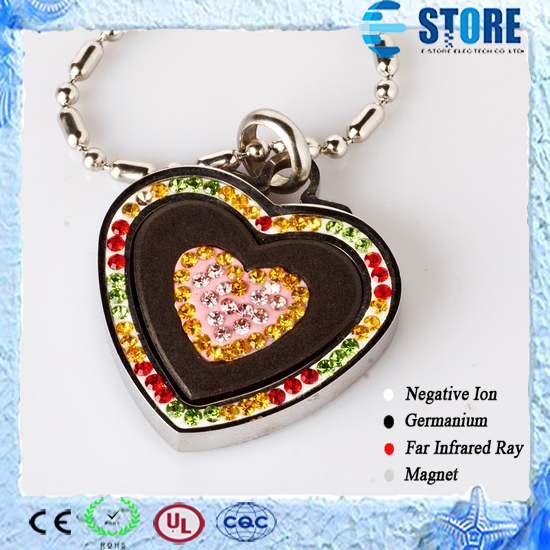 Diamond Pendant with Scalar Energy Pendant Love Heart Pattern Quantum Ion Pendant Best for Gift Occasion Pendant<br><br>Aliexpress