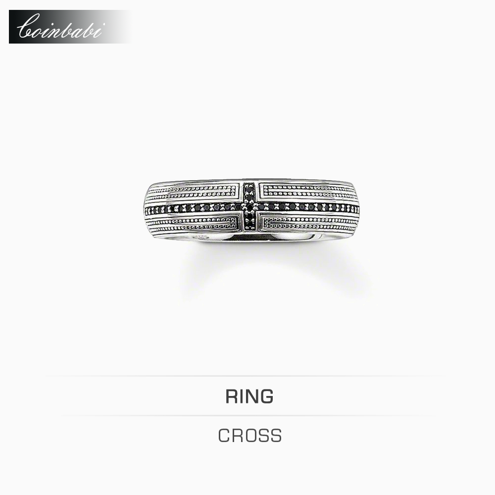 Rings Corss Zirconia 925 Sterling Silver Wedding Ring For Women Men Thomas style Glam and Soul Ring TS Fashion Jewelry Wholesale(China (Mainland))