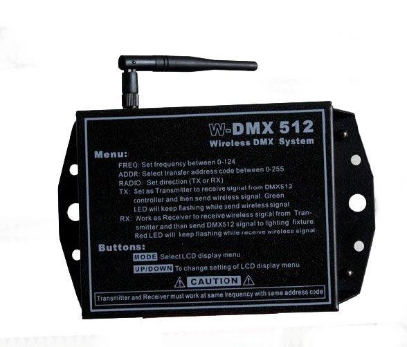 250M stage signal wireless transceiver/DMX signal wireless Controller/DJ Club Disco wedding planning stage light control