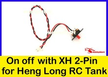 Heng Long On Off Switch Wire with XH 2-Pin wire for Heng Long R/C Tank Replacement x 1(China (Mainland))