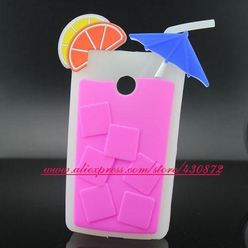 3D Sweet Juice Cup case cover for motorola moto E soft Rubber Silicon phone back for motorola moto E XT1021 XT1022 case(China (Mainland))