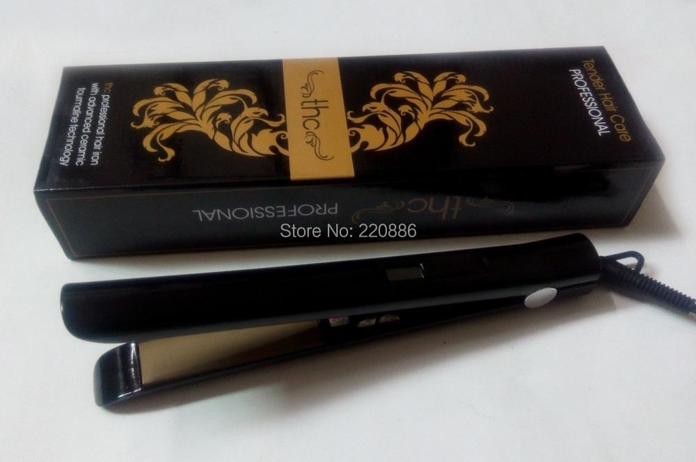 Professional Hair Straightener LCD Display Flat Iron Styling Tools Barber Hair Iron GIC-HS106 Free Shipping(China (Mainland))