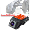Fashionable mini size car blackbox wifi 1080P HD car DVR with G sensor motion detection for
