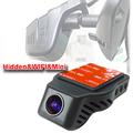 Super mini size anti vibration wifi 1080P HD car blackbox DVR with G sensor motion detection