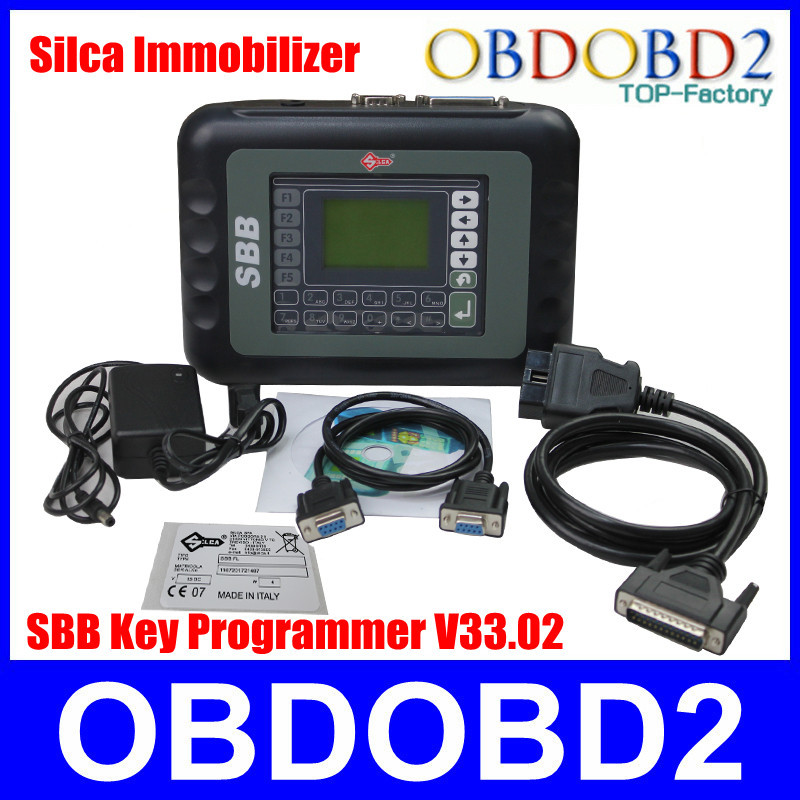 2015 SBB Key Programmer Silca V33.02 Sbb Immobilizer Key Maker Multi-Brand Cars A+++Quality +Best Price Hotselling CNP Free(China (Mainland))
