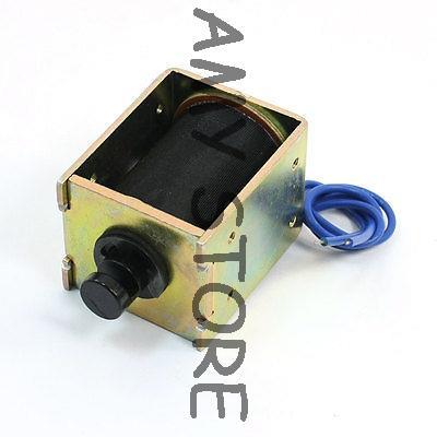 DC24V 15Kg Force Detachable Shaft Linear Motion Solenoid Electromagnet<br><br>Aliexpress
