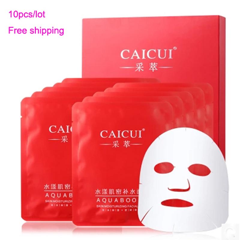 Cuidados de beleza do homem e mulher máscara hidratante máscara de clareamento água coberto a pele