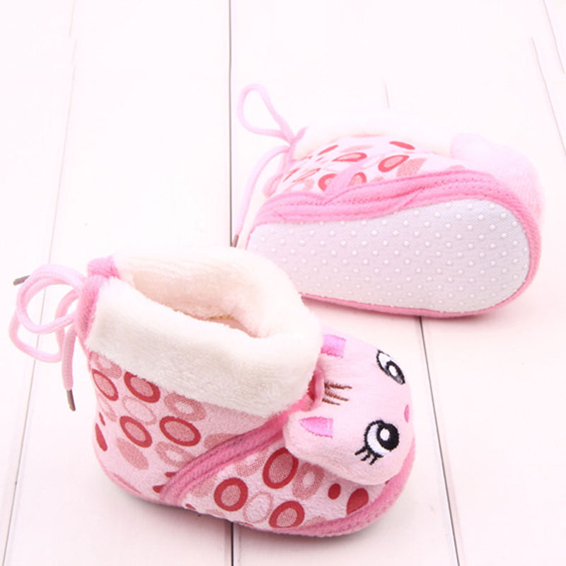 Baby Toddler Girl Winter Crib Shoes Newborn Boy Cozy Animal Fleece Prewalker<br><br>Aliexpress