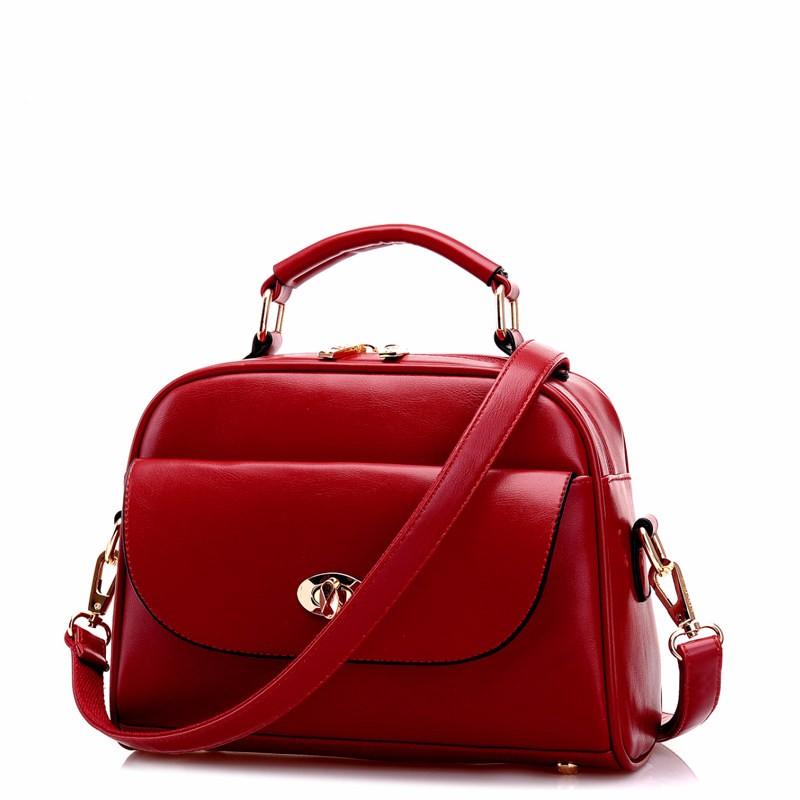Portable Trendy Crossbody Bag Korean Style And Fashionable Women PU Handbag Designer Chic Ladies Ladylike Large Shoulder Bag