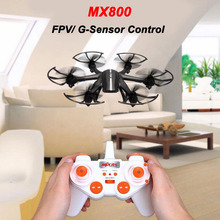 MJX X800 /X800C 2.4G 6-Axis RC Drone Helicopter 3D Roll Aircraft Can Add C4005 FPV HD Wifi Camera Black/ White Color In Stock