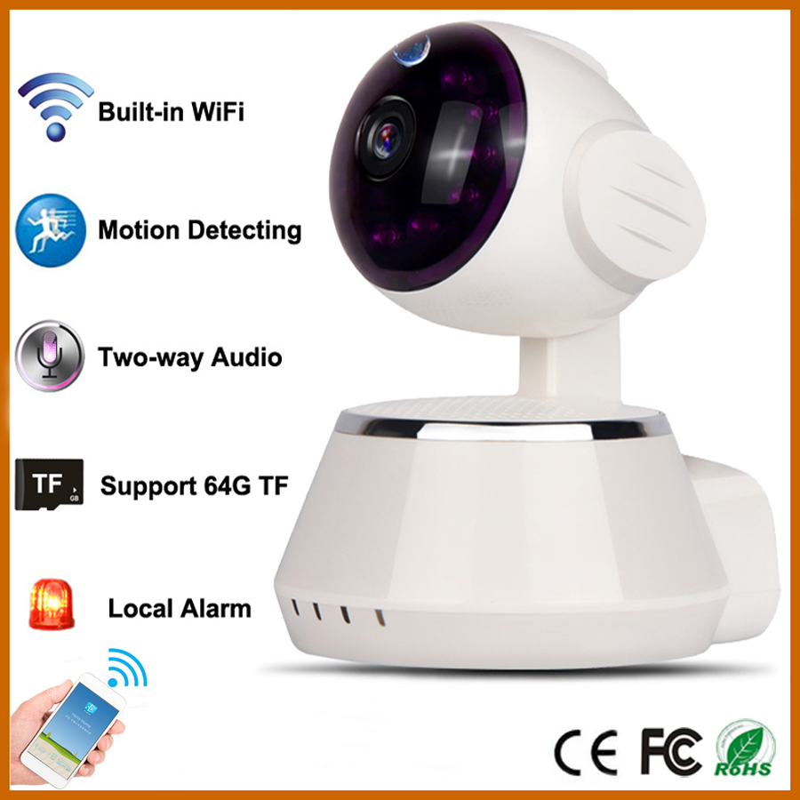 security camera wifi wireless network home support iphone android micro ip cctv camera for. Black Bedroom Furniture Sets. Home Design Ideas