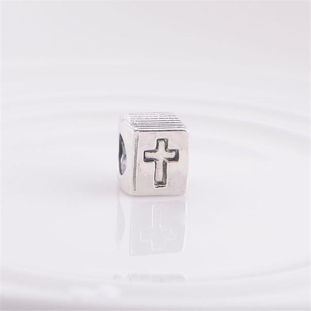 100% 925 серебряные украшения античная от книги серебряный европейский бусины подходит для пандора браслет и ожерелье серебро DIY