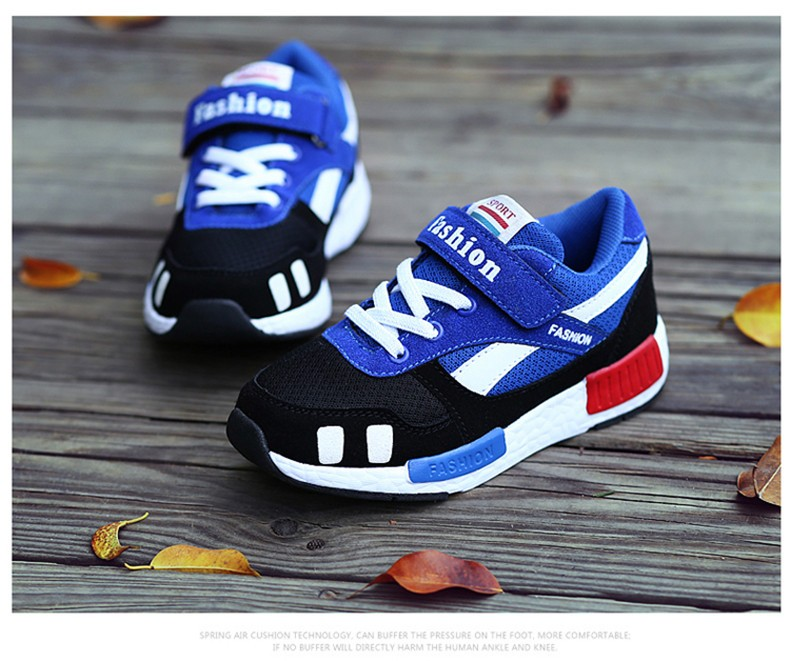 New 2016 fashion trend of Korean children's shoes kids shoes comfortable sports shoes boys girls casual shoes