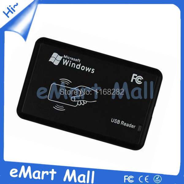 New USB RFID ID Contactless Proximity Smart Card Reader EM4001 EM4100 Windows(China (Mainland))
