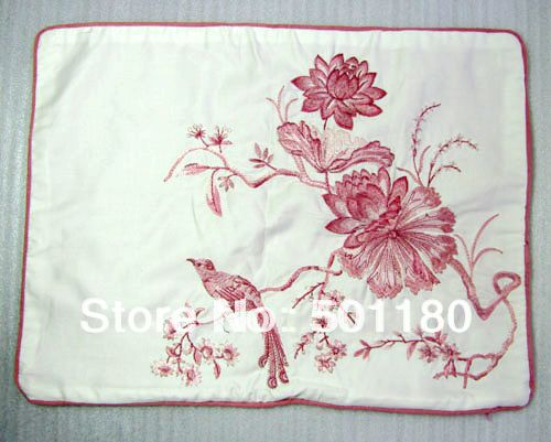 Free Shipping Cushion Cover Hand Embroidery Design Latest