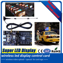 2016 new wireless 3G/wifi led display control card onboard 4G memory can support more than 4 hours programming playing (China (Mainland))