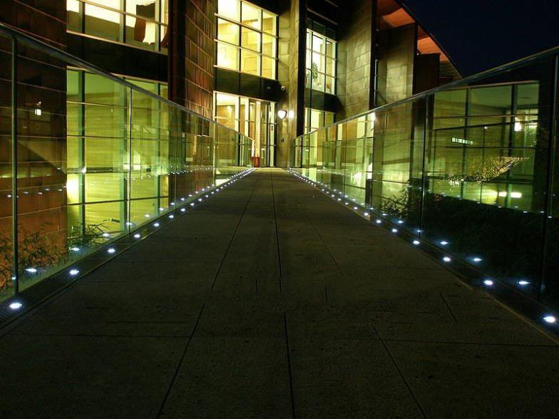... Ultra Thin Stainless Steel 12V 0.42W IP67 Round Outdoor LED Floor Light  Recessed Deck Step