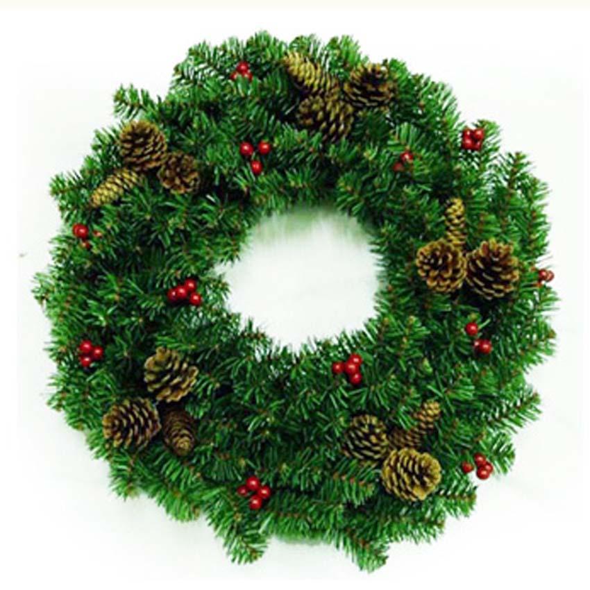 Online get cheap artificial pine garland Garland tree decoration