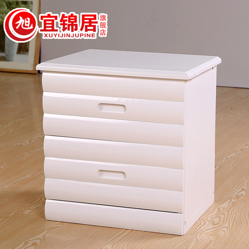 EC FURNITURE Modern fashion brand direct bedside cabinet simple wood cabinets berserk in a small bucket FREE SHIPPING(China (Mainland))