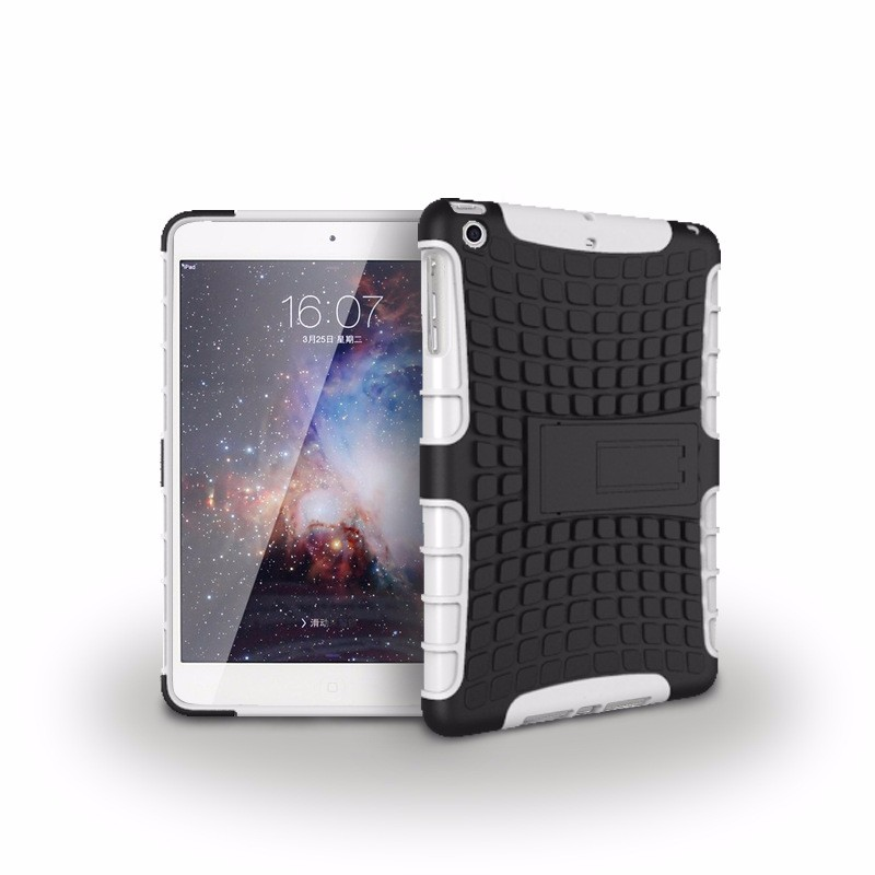 For ipad Mini1 mini2 mini3 back cover Case For Apple iPad Mini Cases ShockProof Hybrid Heavy Duty Stand Cover Tablet Accessories
