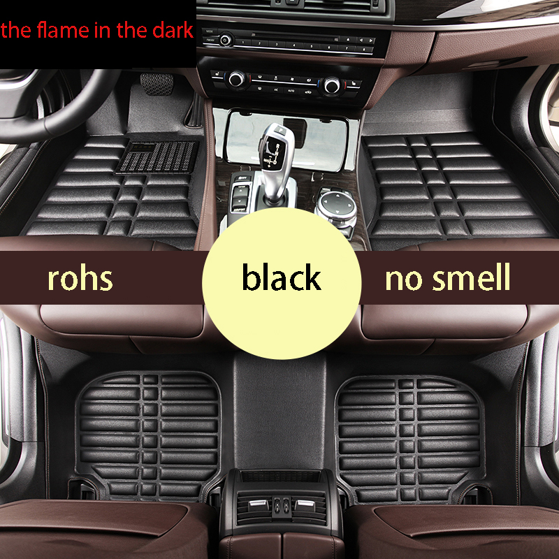 free shipping leather car floor mats for haval h6   mg6   luxgen 7 suv     SUZUKI TIANYU sx4   byd f3<br><br>Aliexpress