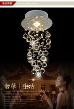 Modern Chandelier Crystal LED Lustres E Pendentes 90-265v 22X66CM Chandeliers Crystal Lustres de Pendentes(China (Mainland))