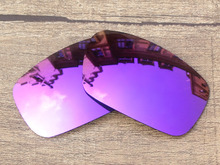 Plasma Purple Mirror Polarized Replacement Lenses For Crankshaft Sunglasses Frame 100% UVA & UVB Protection
