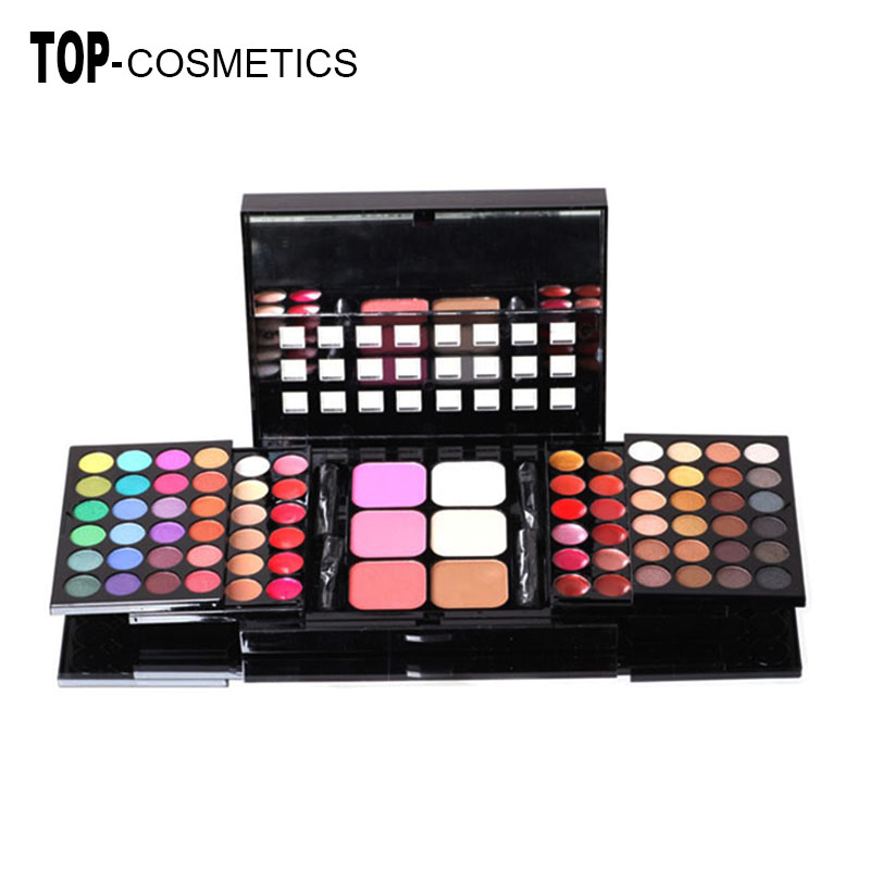 Professional 78 Color Eyeshadow Palette Set 48 Eyeshadow + 24 Lip Gloss +6 Foundation face powder/Blush Makeup Kit Cosmetics<br><br>Aliexpress