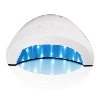 YZWLE 1Pc 24/48W UV Lamp Nail Polish Dryer LED White Light 5S 30S 60S Drying Fingernail&Toenail Gel Curing Nail Art Dryer Nails