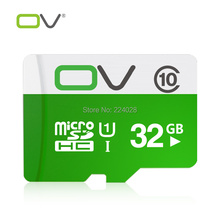 OV Memory Micro SD Card 32GB Class 10 UHS-1 TF Carte Microsd Flash Card SDCard for Mobile Phone Smartphone Tablet MP3 MP4 Camera(China (Mainland))