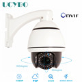 2mp IP camera network mini PTZ 1080P HD pan tilt 10x zoom speed dome onvif p2p