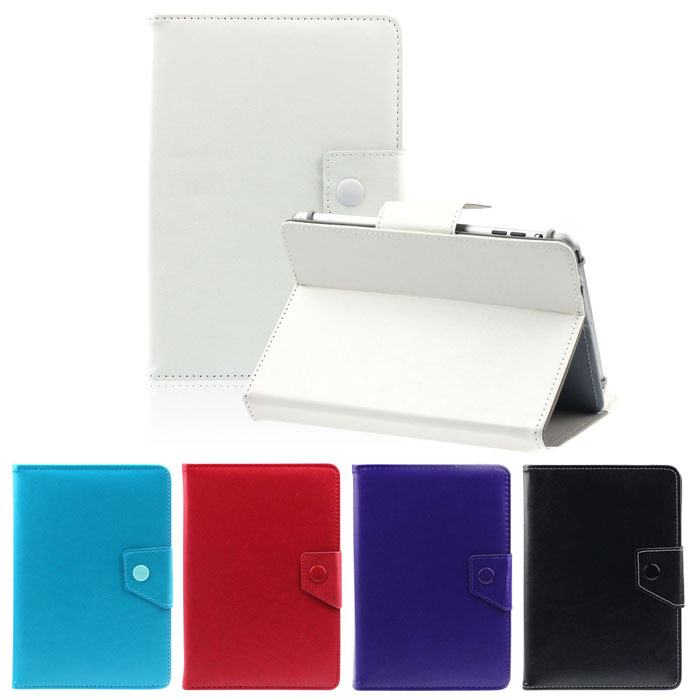Puscard 1PC Universal Crystal Leather Stand Cover Case For 7 Inch Tablet PC Free Shipping&Wholesales(China (Mainland))
