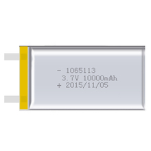 2pcs 1065113 Real Capacity 10000mAh Li-ion 3.7V Rechargeable Battery Lithium Polymer Mobile Backup Power Digital Products Tablet