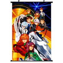 Neon genesis evangelion sexy anime girl silk poster 11.5×20 22.5x36inch picture for Room Decor 007