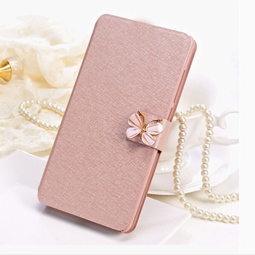 Flip Cover For Apple iPod Touch 5 5th 5G Gen Case Original Glitter Flower & Butterfly PU Leather Protector For Touch 5 Pouch(China (Mainland))