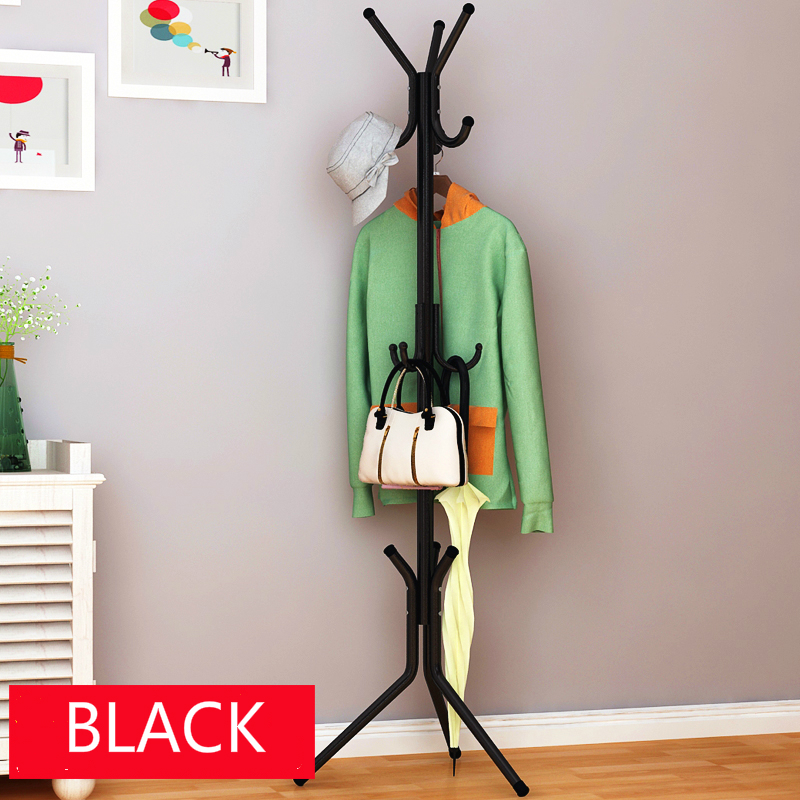 cheap good quantity fashion metal coat rack cheap metal coat stand clothes rack perfect home decoration for sale(China (Mainland))