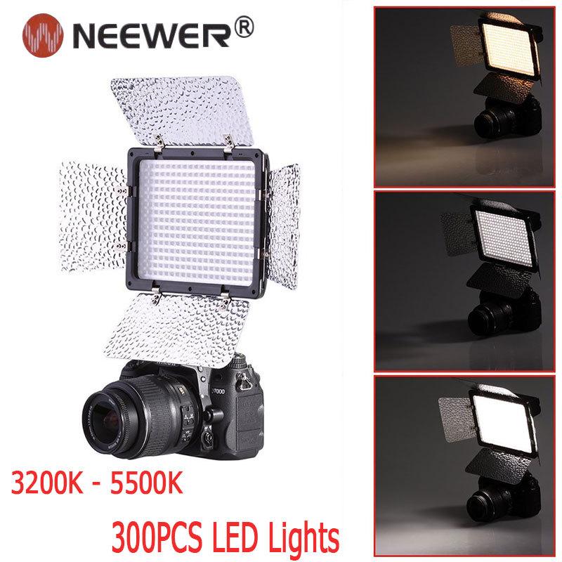 Фотографическое освещение NEEWER 300PCS + Canon Nikon Samsung Olympus JVC Pentax