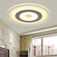 Buy Modern LED Ceiling Lights Indoor Lighting Round Acrylic Ceiling Lamp Fixture Living Room Bedroom Lamparas De Techo for $111.24 in AliExpress store