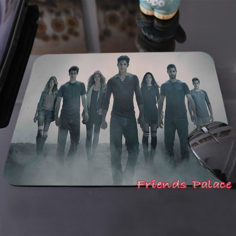 McCall Tyler Posey Teen Wolf Series Create Your Own Style Cool Dark Mouse Pad Computer Laptop Custom-made Mouse Mat Pad(China (Mainland))