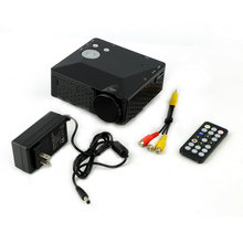 High Quality Mini LED Projector with USB SD VGA HDMI AV Multimedia with Remote Control Worldwide Sale(China (Mainland))