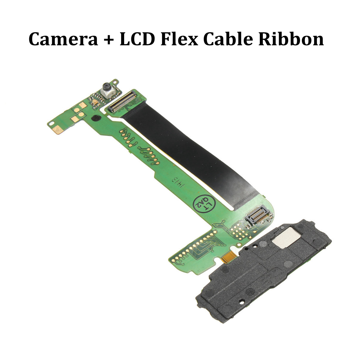 LCD Flex Cable Flat Ribbon Replacement Part Without Camera For NOKIA N95 8GB(China (Mainland))