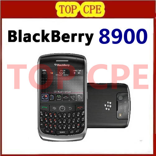 Original Unlocked BlackBerry 8900 Cell Phone WIFI Bluetooth Free Shipping Refurbished phone(China (Mainland))